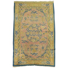 Pink Indo-Chinese Rug