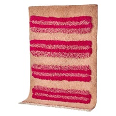Pink INTO EACH OTHER rug in Moroccan Hand Knotted Wool by Maddalena Casadei