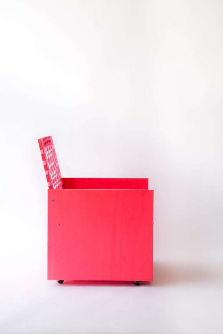 Modern Pink Mary Heilmann Clubchair 86 by Mary Heillmann For Sale
