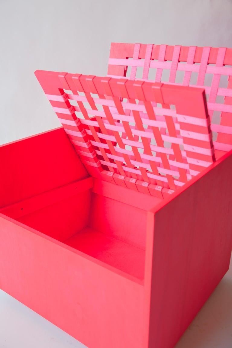 Contemporary Pink Mary Heilmann Clubchair 86 by Mary Heillmann For Sale