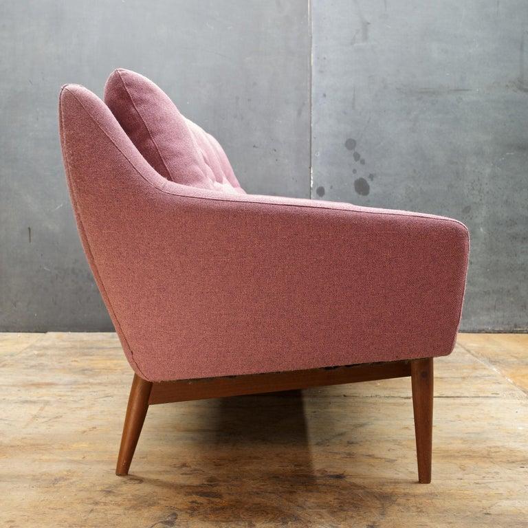Vintage Mid Century Modern Sofa: Pink-Mauve Scandinavian Sofa Vintage 1960s Mid-Century