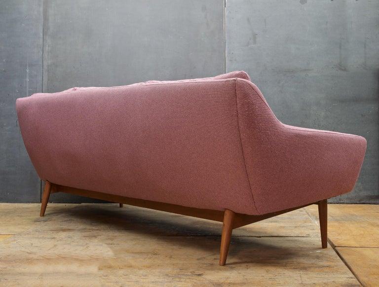 703ed622c4c6 Pink-Mauve Scandinavian Sofa Vintage 1960s Mid-Century Modern Mad Men  Norway In Fair