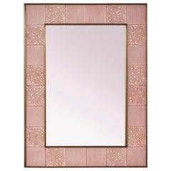 Pink Murano Mirror by Studio Glustin