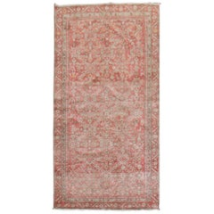 Pink Red Traditional Persian Malayer Rug