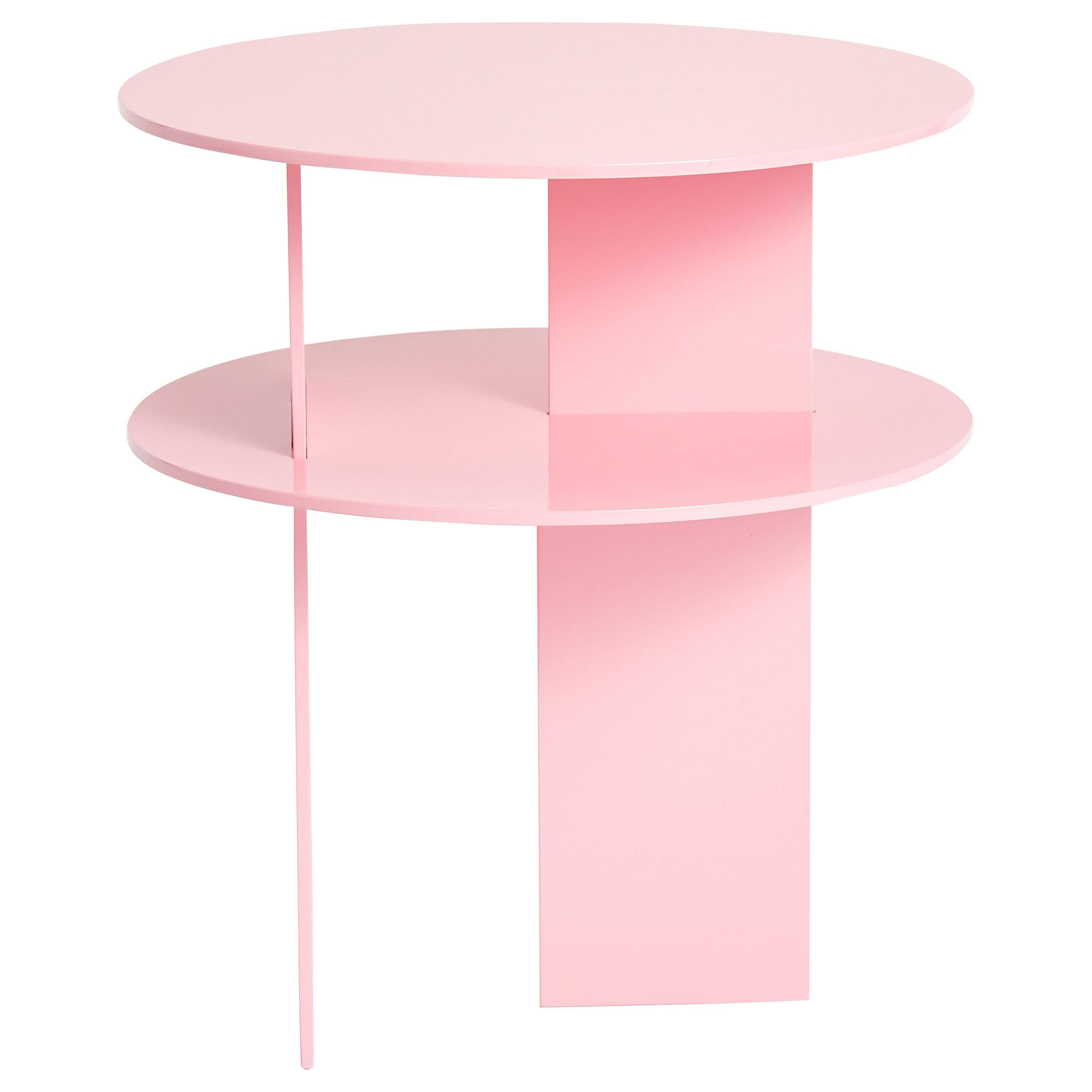 Pink Sanora Side Table by Ben Barber Studio