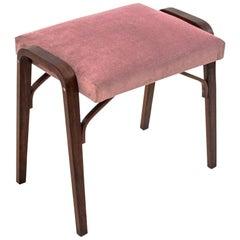 Pink Seat Stool, Danish Design, 1960s
