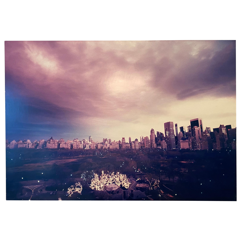 Pink Sky by Ruth Orkin