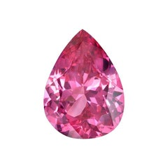 Pink Spinel Ring Gem 2.08 Carat Unset Pear Shape Mahenge Loose Gemstone