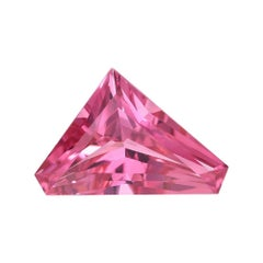 Pink Spinel Ring Gem 2.98 Carat Unset Fancy Cut Mahenge Loose Gemstone