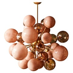 Pink Sputnik Chandelier by Studio Glustin