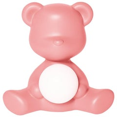 In Stock in Los Angeles, Pink Teddy Bear Lamp LED Rechargeable