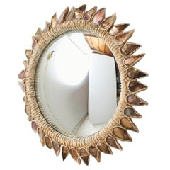 """""""Pink Thistle"""" Mirror by Line Vautrin"""