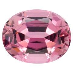 Pink Tourmaline Ring Gem 6.95 Carat
