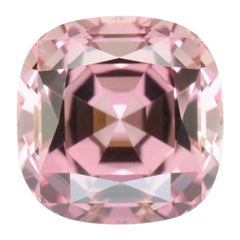 Pink Tourmaline Ring Gem 7.82 Carat Unset Loose Gemstone