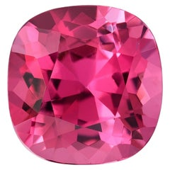 Pink Tourmaline Cushion Cut 5.04 Carat