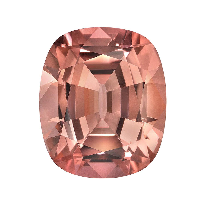 Pink Tourmaline Ring Gem 4.62 Carat Cushion Loose Gemstone