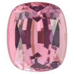 Pink Tourmaline Ring Gem 9.36 Carat Rectangular Cushion Loose Gemstone