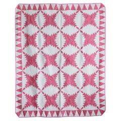 Pink Vintage Patchwork Quilt