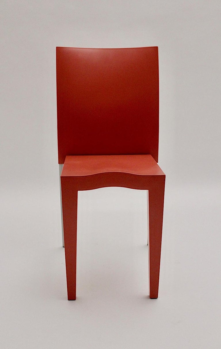 Modern Pop Art Pink Vintage Side Chair/Chair Miss Global Phillipe Starck 1980s Kartell For Sale