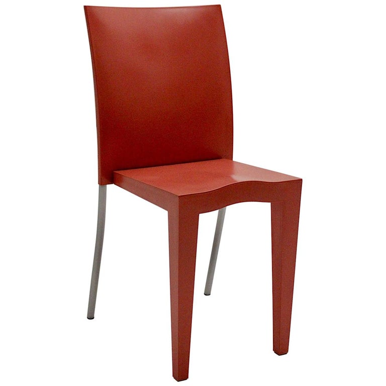 Pop Art Pink Vintage Side Chair/Chair Miss Global Phillipe Starck 1980s Kartell For Sale