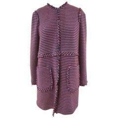 Pinko Multicoloured Tweed Coat