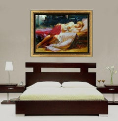 Pino Daeni Dreaming In Color Large Giclee on Canvas Signed Female