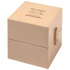 Pino Tovaglia Large Parola Amore Collapsable Wooden Letters for Bottega Ghianda
