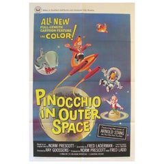 Pinocchio In Outer Space, 1965