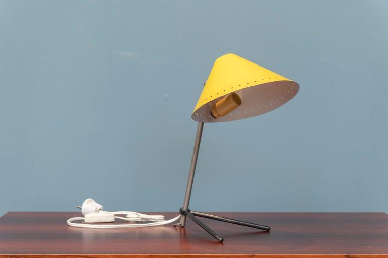 Scandinavian Modern Pinocchio Lamp by H. Busquet for Hala Zeist, Netherlands For Sale