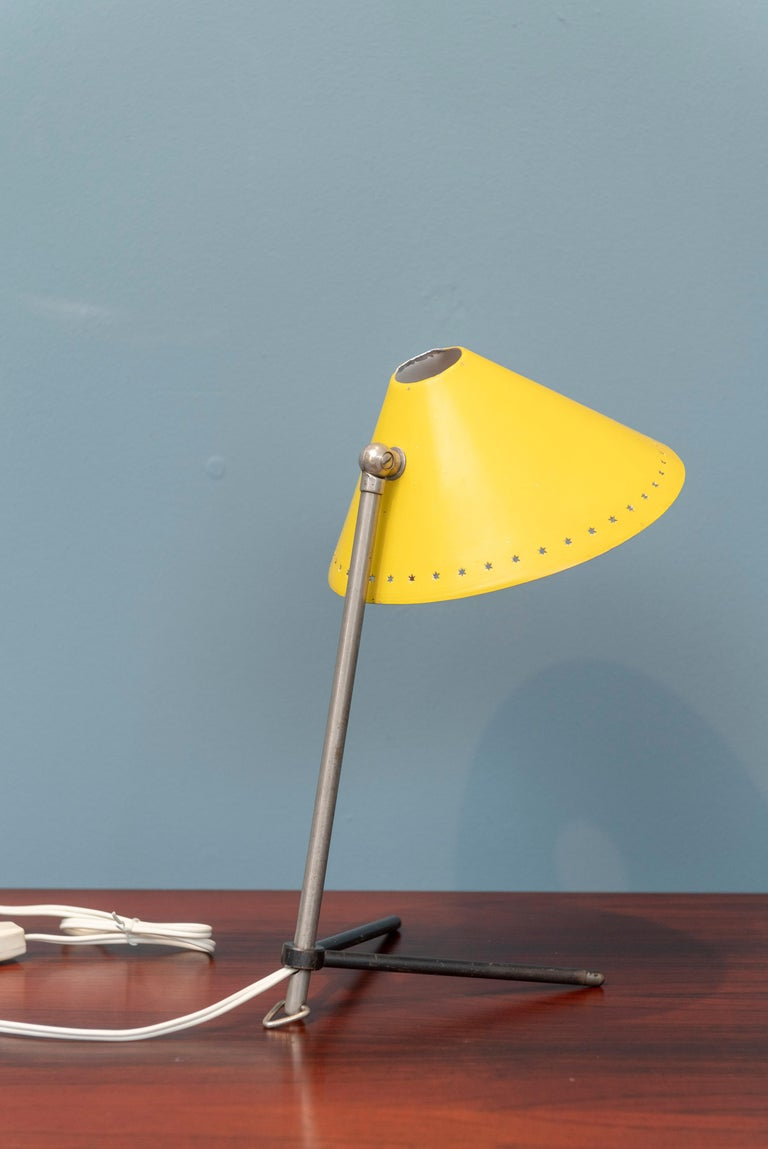 Mid-20th Century Pinocchio Lamp by H. Busquet for Hala Zeist, Netherlands For Sale