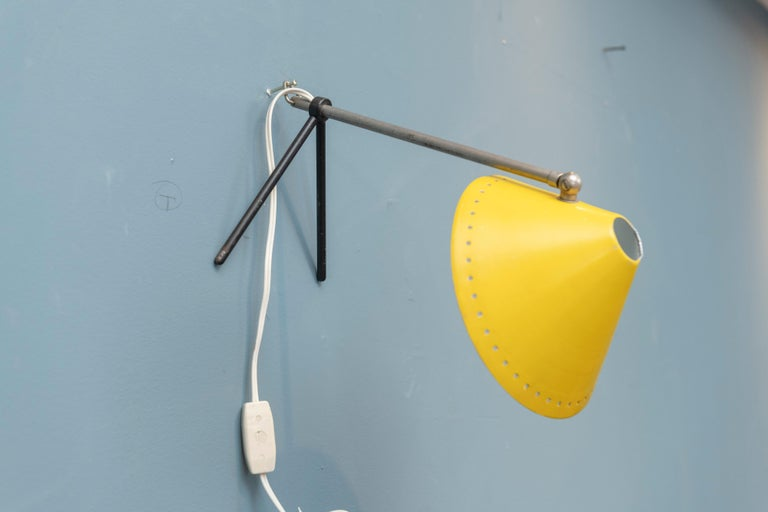 Pinocchio Lamp by H. Busquet for Hala Zeist, Netherlands For Sale 1