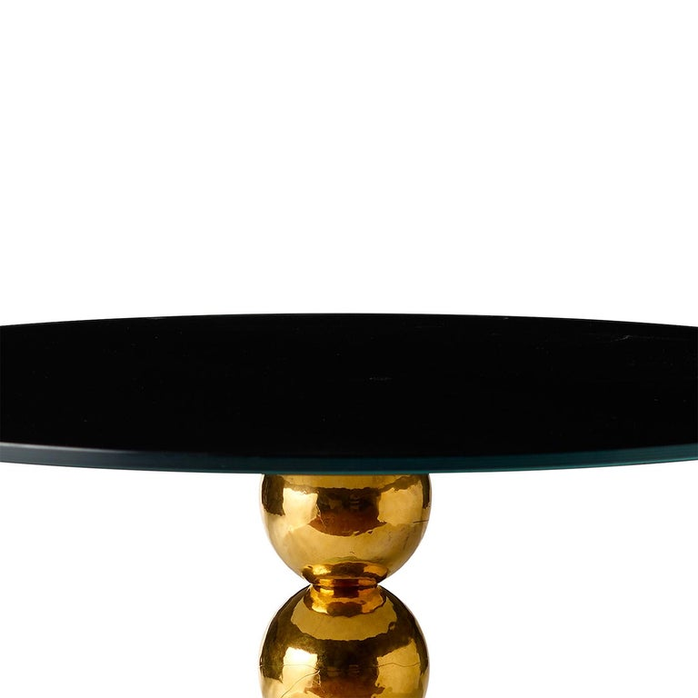 Pins Green Side Table In New Condition For Sale In Milan, IT