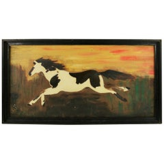 Pinto Equestrian Painting