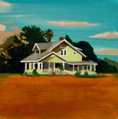 A HOUSE ON THE PRAIRIE  -  from the series: MADE IN USA, Expressionism