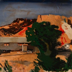 A NATIVE AMERICAN HOME II -  from the series: MADE IN USA, Expressionism