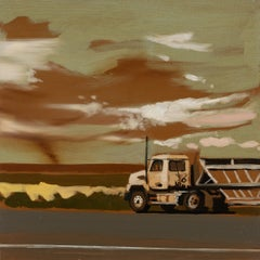 TRUCK II  -  from the series: MADE IN USA, Landscape, Expressionism, Pickup