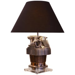 Piper Cylinder Table Lamp