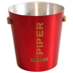 Piper Heidsieck Red Champagne Ice Bucket Cooler