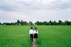 Couple Walking Home