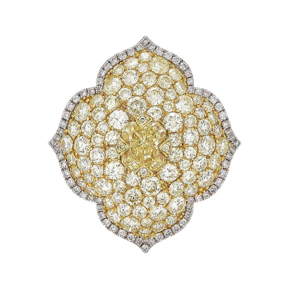 Piranesi Pacha Yellow Diamond Ring