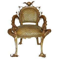 Piraruku Chair with Bronze