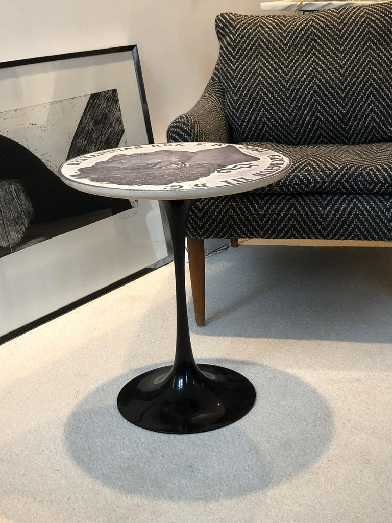 Pire of Tulip Side Tables by Maurice Burke for Arkana, 1960 For Sale 11