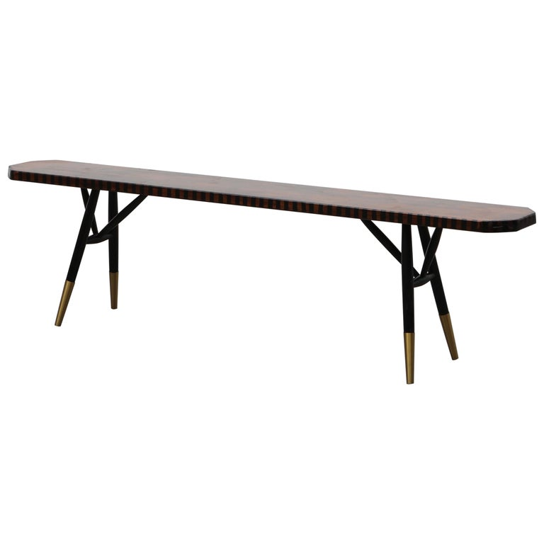 Pirkka Bench Contemporized by Atelier Staab Entitled Black Is Beautiful For Sale