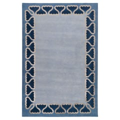 Pisces Hand-knotted 10' x 7' Rug in Wool & Silk By Martin Brudnizki