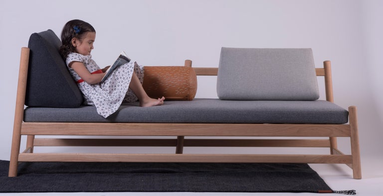 Hand-Crafted Pita Daybed For Sale