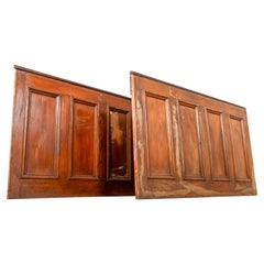 Pitch Pine Dado Panelling from a Welsh Chapel, 20th Century