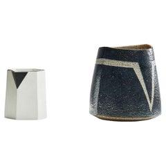 Pitcher and Stoneware Vase by Bodil Manz & Trine Heegaard, for Kristen