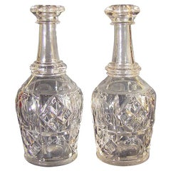 Pittsburgh Glass Bar Bottles or Decanters, Bakewell, Pears & Co.