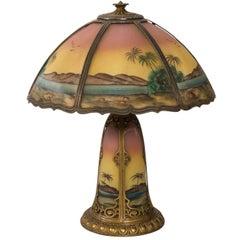 Pittsburgh Style Desert Lamp, circa 1915