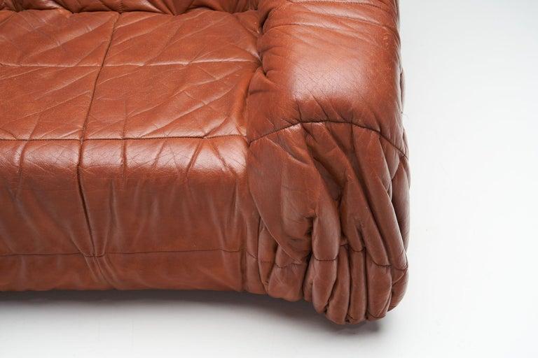 """""""Piumino"""" Club Chair by De Pas, D'Urbino & Lomazzi for Dell'Oca, Italy, 1970s For Sale 3"""